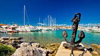 Båtluffa i Kroatien