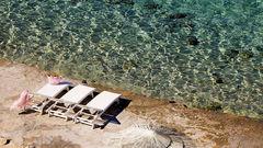 Romantik i Agios Ioannis.