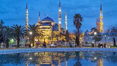 Den Blå Moskén, Istanbul.