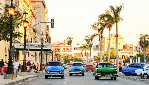 Typisk varm kväll på Kuba.