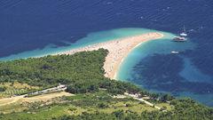 Brac är en av flera öar du når om du utgår från Split.