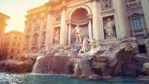 I Rom finns många magiska platser att besöka.
