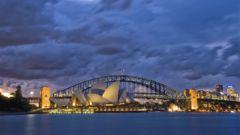 Operahuset och Sydney Harbour Bridge är typiska ikoner för Australien.