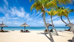 Upplev Mauritius lugna stränder.