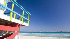 På Miami beach finns det plats för alla.