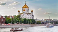 Christ the Saviour-katetralen i S:t Petersburg.