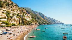 Positano på Amalfikusten är värt ett besök.