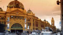 Melbourne är präglat av arkitektur.