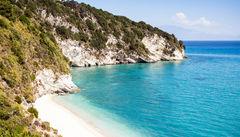 Strand på Malta.