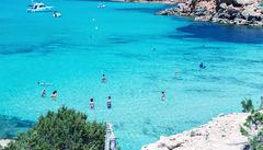 Cala Saona Beach, Formentera.