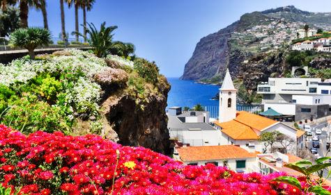 """Madeira kallas även """"Den flytande trädgården."""