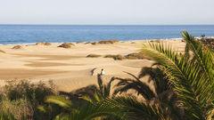 Maspalomas på Gran Canaria.