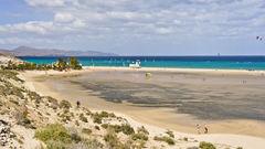 Sotavento på Fuerteventura.