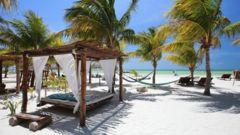 Barfotaön Isla de Holbox är som balsam för själen.