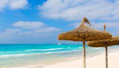 """Den vita stranden Es Trenc, även kallad """"Mallorcas Karibien""""."""