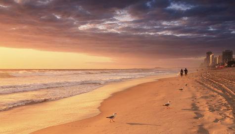 Surfer's Paradise - strand och storstad i ett.