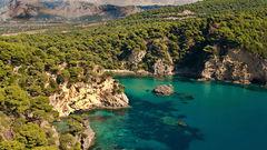 Kanali är en av Apollos nyheter i år. Här får du härliga stränder och vacker natur.